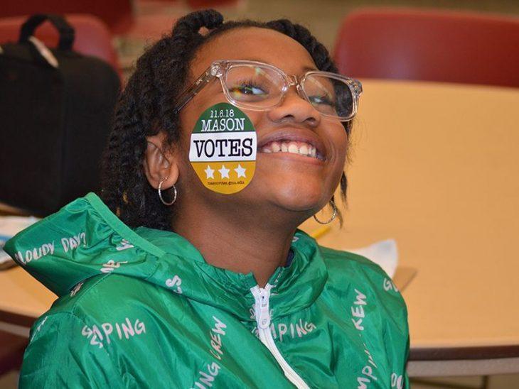 CCCS student vote drive Cox